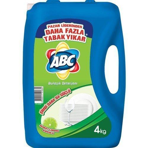 Abc Bulaşık Deterjanı Misket Limon 4 Lt