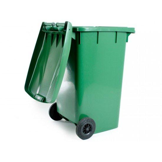 240 Litre Plastik Tekerlekli Çöp Konteynırı