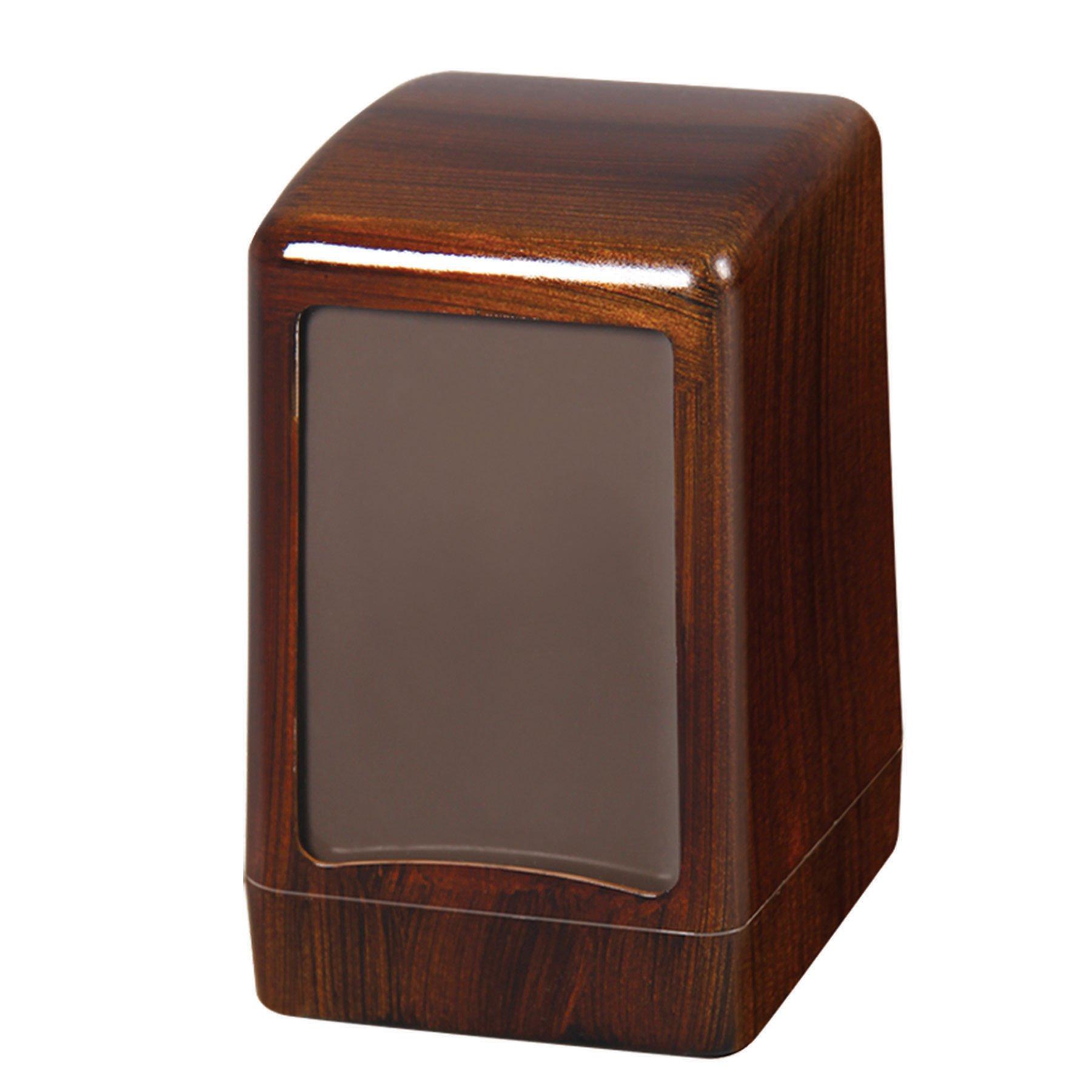 Masa Üstü Peçete Dispenseri Ahşap görünümlü (Hafif)