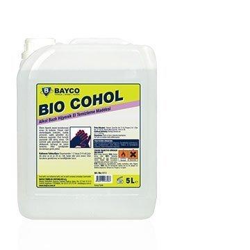 Bio Cohol Alkol Bazlı Hijyenik El Temizleme Maddesi