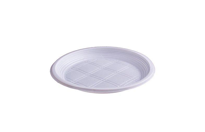Plastik Orta Tabak 19 cm