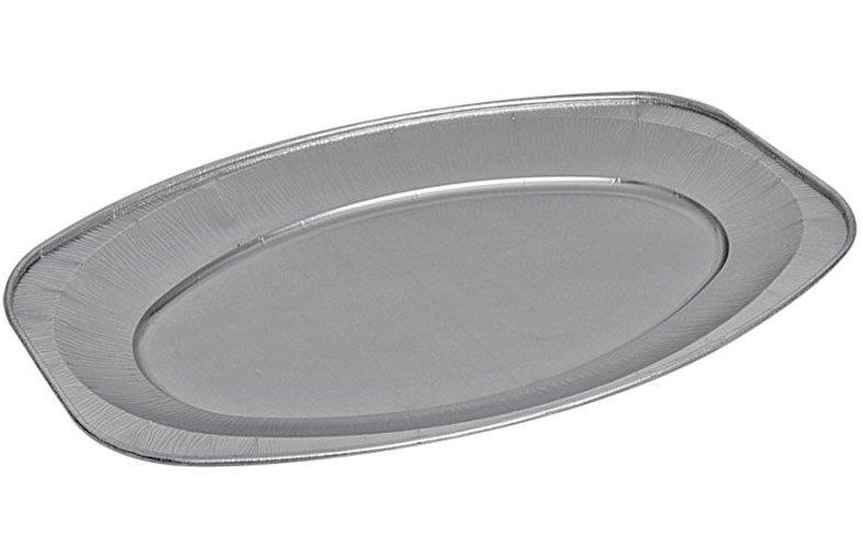 Alüminyum Oval Tepsi Küçük (850cc) (350*243*25mm)
