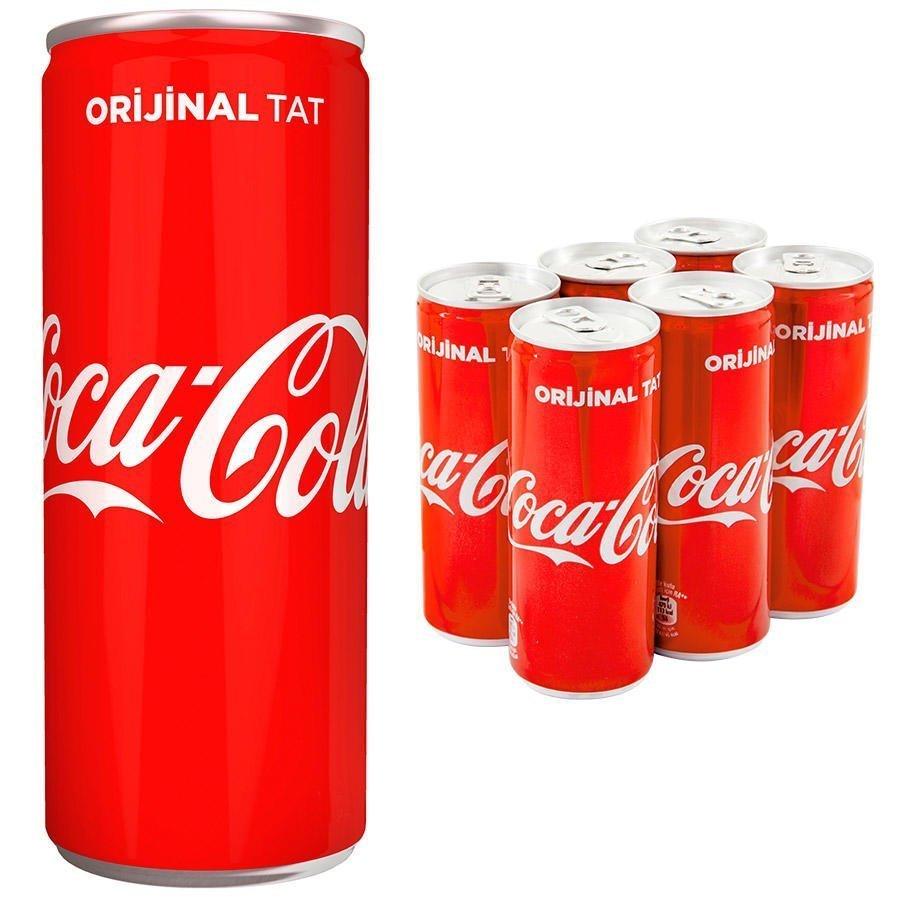 Coca-Cola Kutu 250 ml
