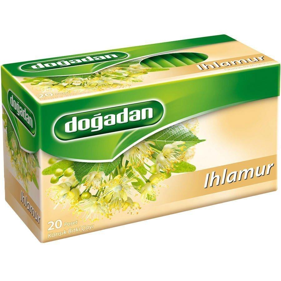 Doğadan Yeşil Çay Sade 20'li Paket