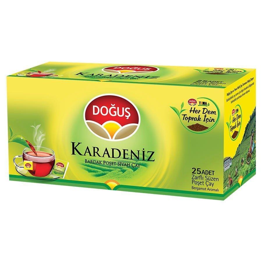 Doğuş Karadeniz Bardak Poşet Çay 25'li