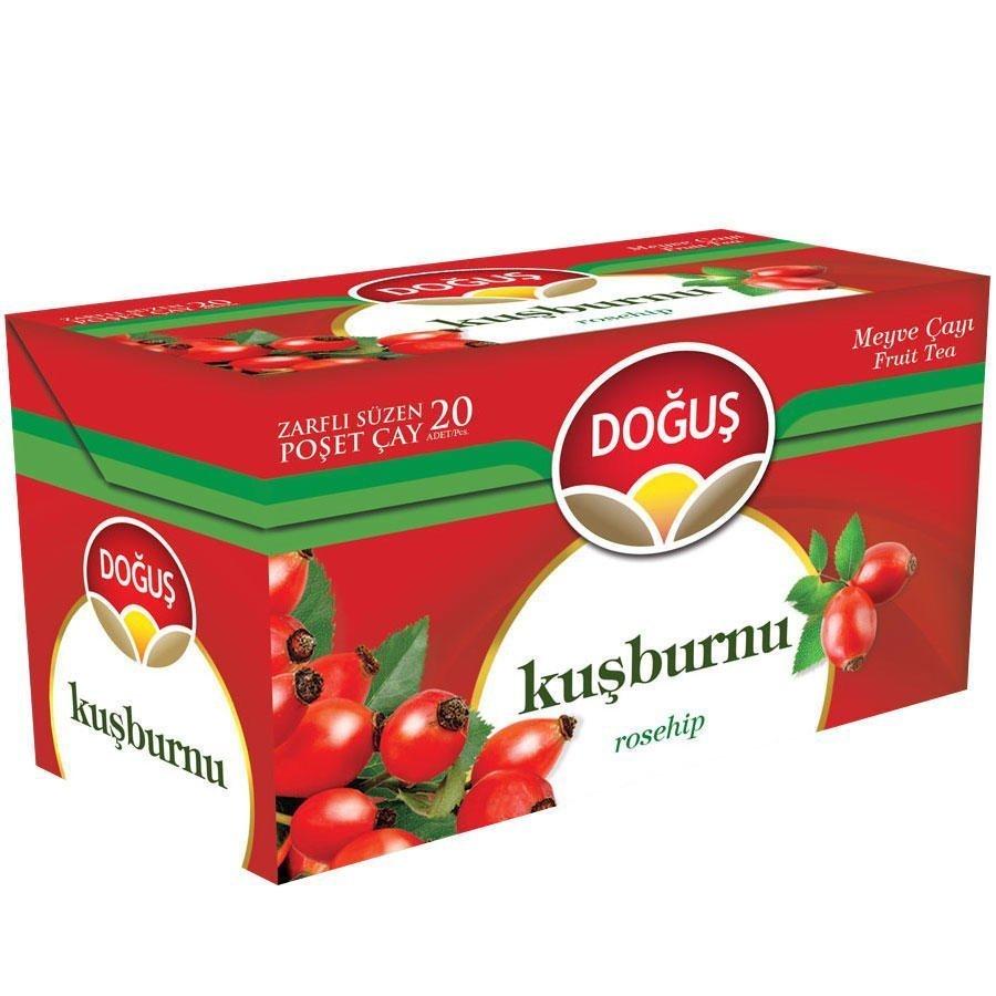 Doğuş Meyve Çayı Kuşburnu 20'li Paket