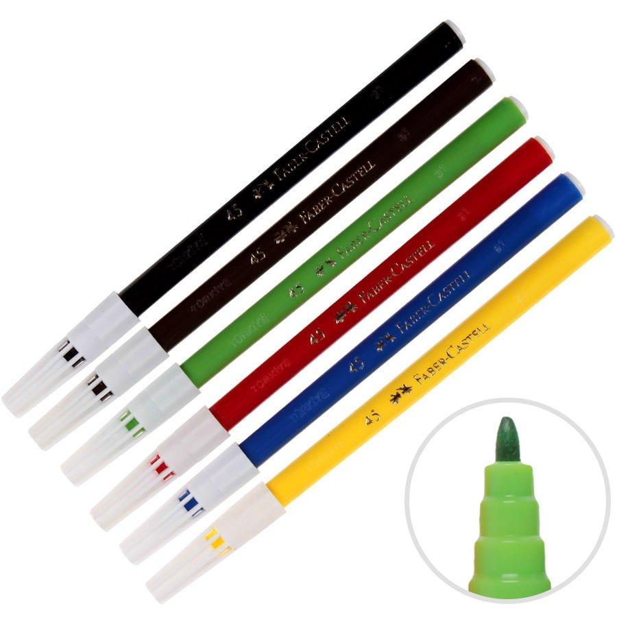 Keçeli Kalem Karışık Renkler