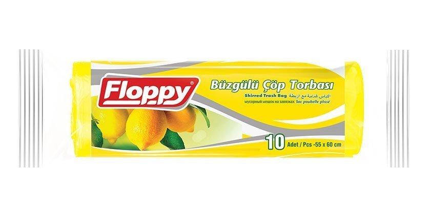 Limon Kokulu Büzgülü Çöp Torbası
