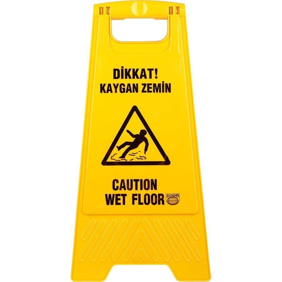 Kaygan Zemin PVC Uyarı Levhası