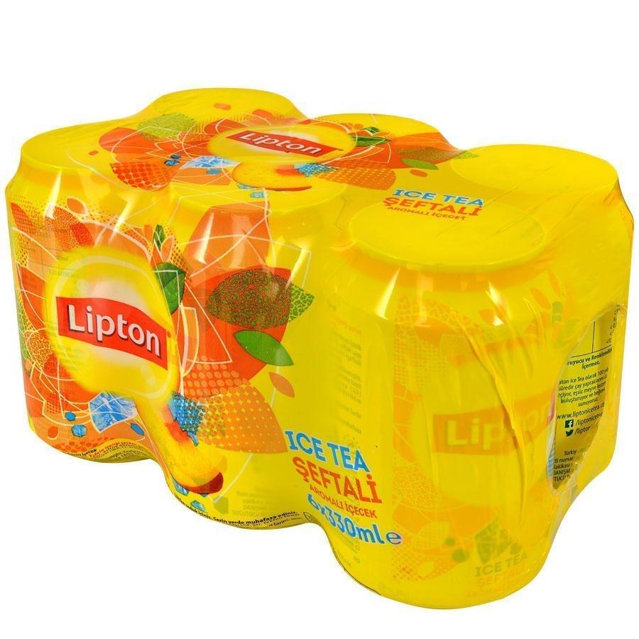 Lipton Ice Tea Şeftali 330 ml