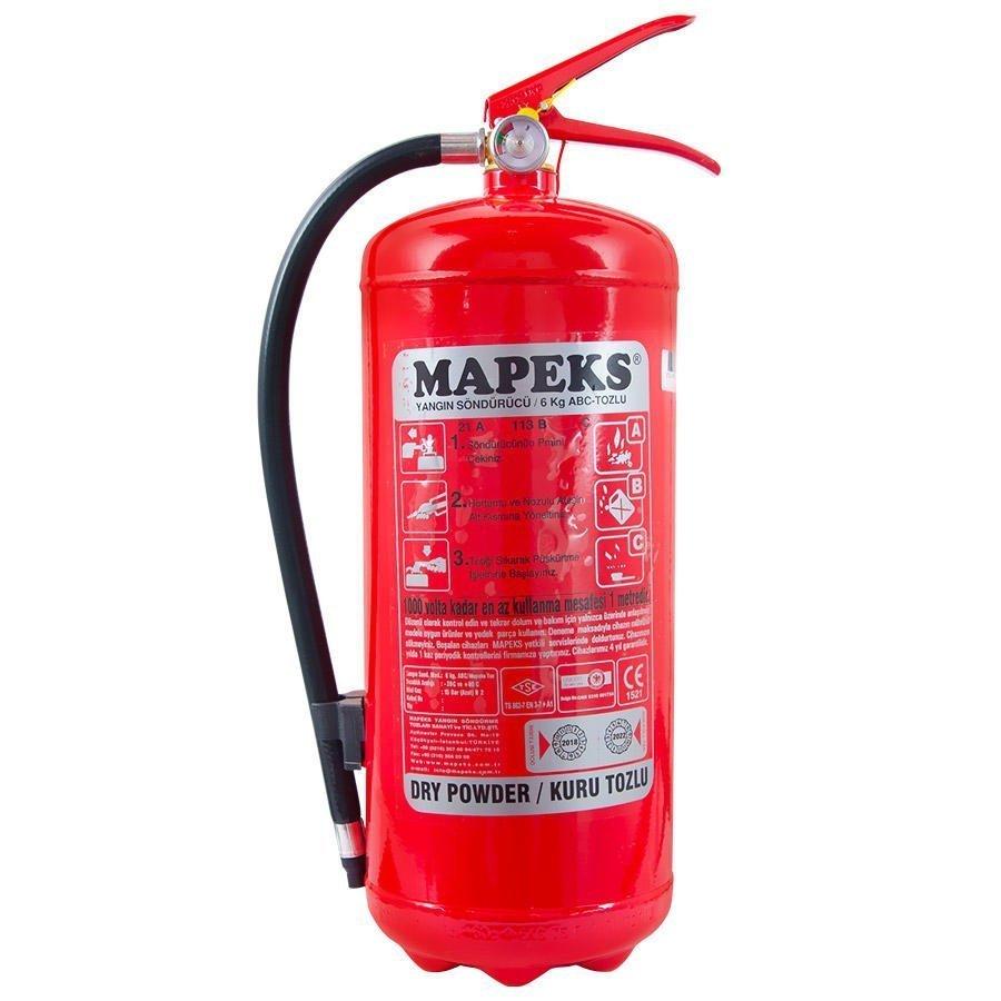 Yangın Söndürücü 6 kg