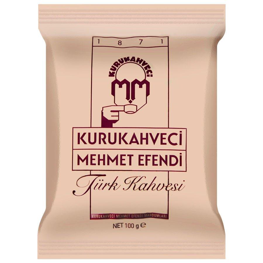 Kurukahveci Mehmet Efendi Türk Kahvesi Poşet 100 gr
