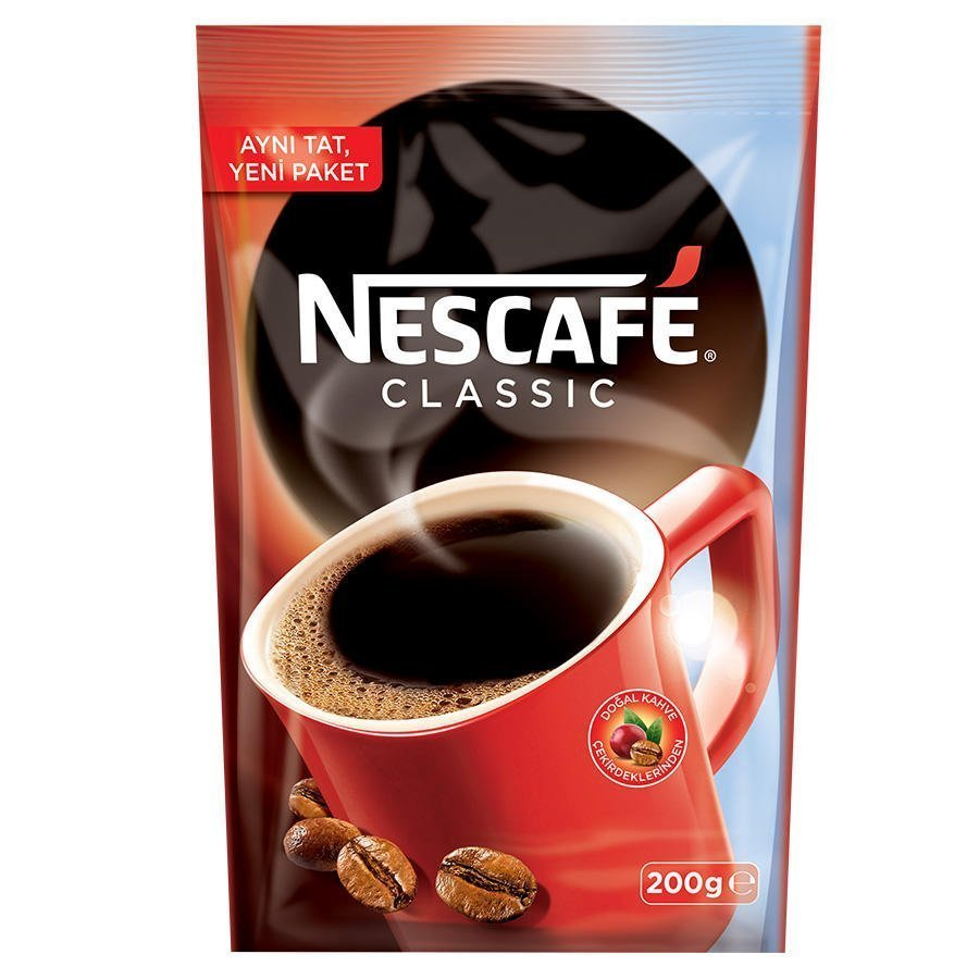Nescafe Classic Kahve Ekonomik 200 Gr