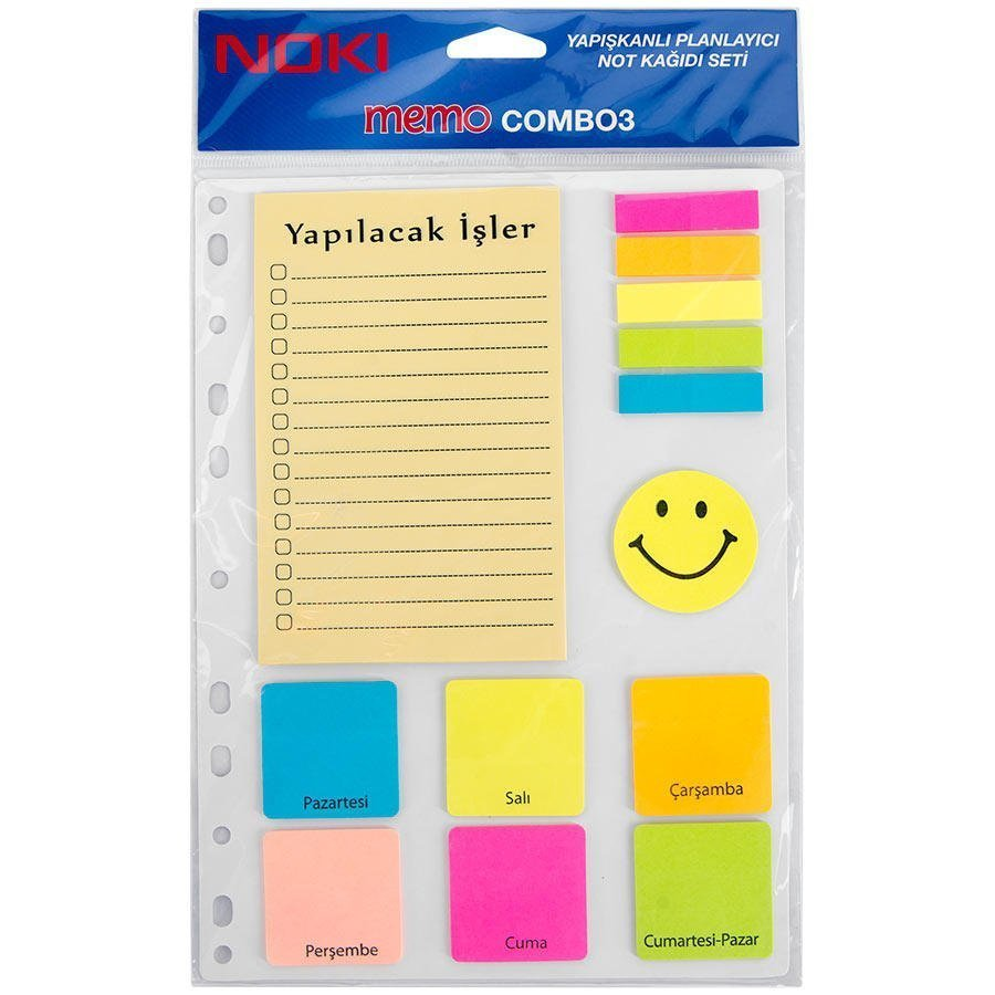 Yapışkanlı Not Kağıdı Seti