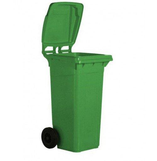 120 Litre Plastik Tekerlekli Çöp Konteynırı