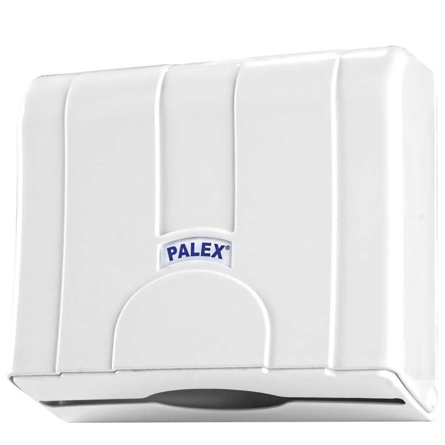 Standart Z Katlı Kağıt Havlu Dispenseri Şeffaf Mavi