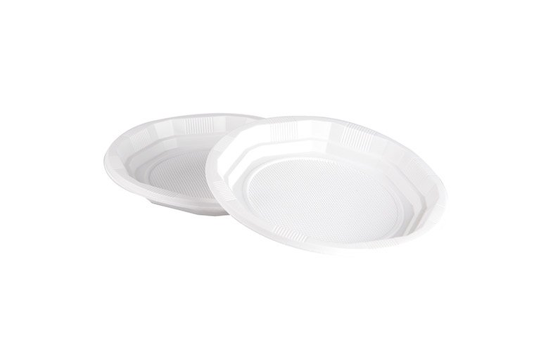 Plastik Pizza Tabak 21 cm