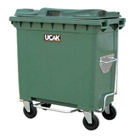 770 Litre Tekerlekli Plastik Çöp Konteynırı